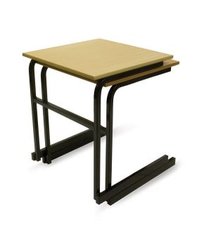 Adv Heavy Duty Exam Desks - Cantilever Frame