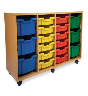 Adv MSU Mobile Tray Storage Unit