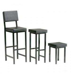 Adv Upholstered Square Stools - D11-13