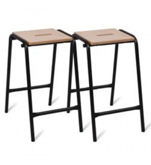Adv Wooden Top Stools - DGW