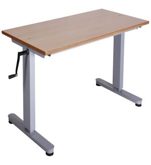 Adv HATC Height Adjustable Table - PVC Edge