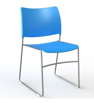 SLITE High Density Stackable Conference Chairs - Fast Delivery