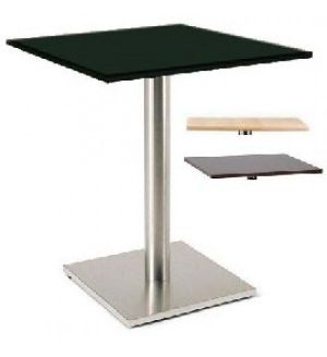 Luxor Breakout Area Tables - Brushed Steel or Shiny Chrome - FAST DELIVERY