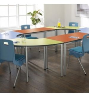 MT Contemporary Student & Meeting Room Tables - PVC / ABS Buro Edge