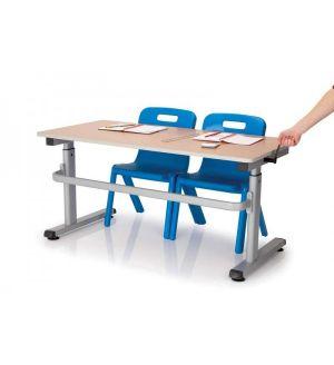 MT HA200 Height Adjustable School Tables - MDF Edge