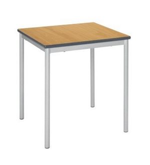 Reliance School Tables - 30mm Crushed Bent Frame - PU Edge
