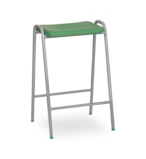 Polypropylene Flat Top Stools - Colours