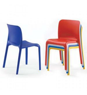 Adv POPPY Stackable Plastic Chairs