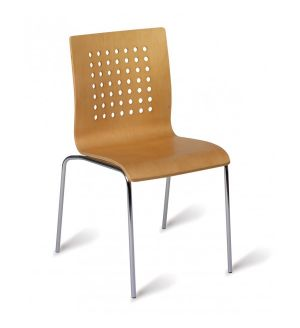The Treviso Range Visitor Chairs / Bistro Chairs - Fast Delivery