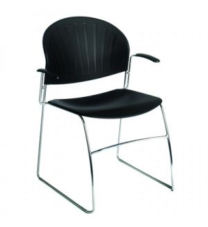 Vista Delegate Arm Chair / Conference Chairs - Fast Delivery