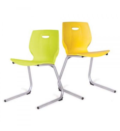 Adv Geo Poly Cantilever Base Classroom Chairs