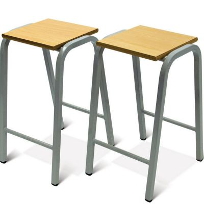 Adv Heavy Duty Wooden Top Stools - HDS
