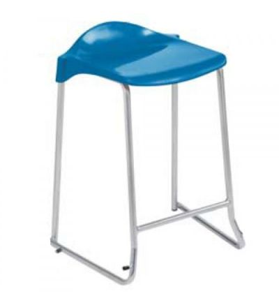 Adv Low Back Skid Base Lab Stools (ASL-SKID)