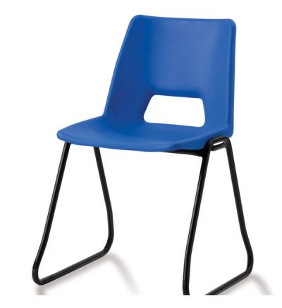 Adv Poly Skid Base School Chairs - ACE SK