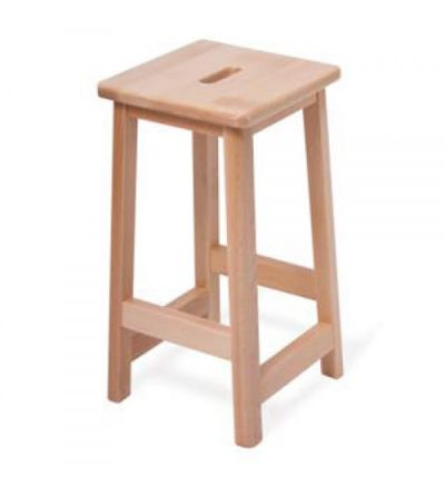 Adv Solid Beech Wooden Lab Stools