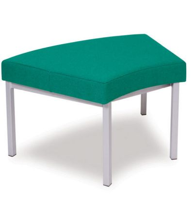 Adv Upholstered Modular Curved Bench