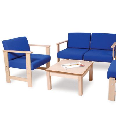 Adv 450W Wooden Easy Waiting Room Seating