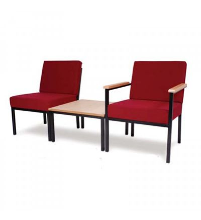 Adv D7-D9-CFT600 Metal Framed Easy Waiting Room Seating