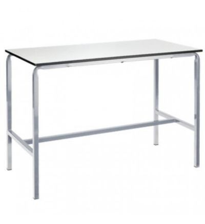 MT Art Craft & Lab Tables - Crush bent H frame with hardwearing Duraform PU edge