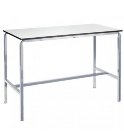 MT Art Craft & Laboratory Tables - Crush bent H frame with hardwearing Duraform PU edge