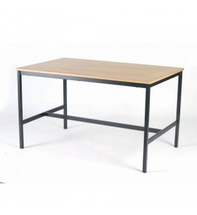 MT Art Craft & Lab Tables - Fully welded H frame with Low Cost MDF edge