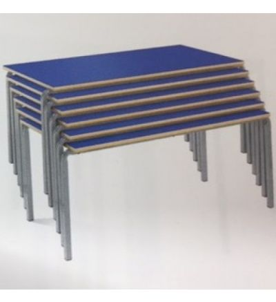 MT Stackable Rectangular Classroom Tables for 4 to 11 Yr Olds - FAST DELIVERY