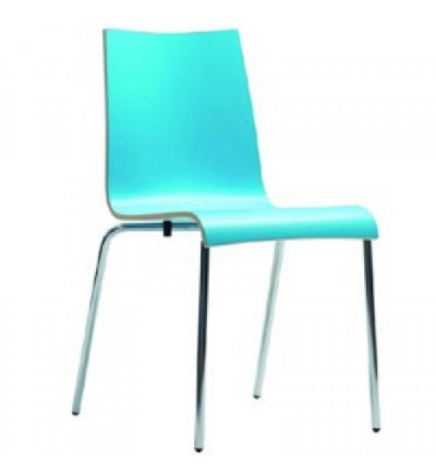 Clio Stacking Cafe Bistro Chairs - Fast Delivery