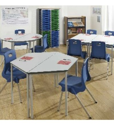MT Fully Welded Student School Tables - PVC / ABS Buro Edge - BEST PRICE
