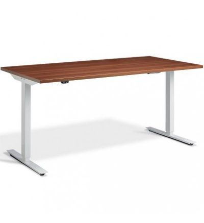 LA Edge Single Motor Height Adjustable Desk / Table - Sit to Stand - Fast Delivery