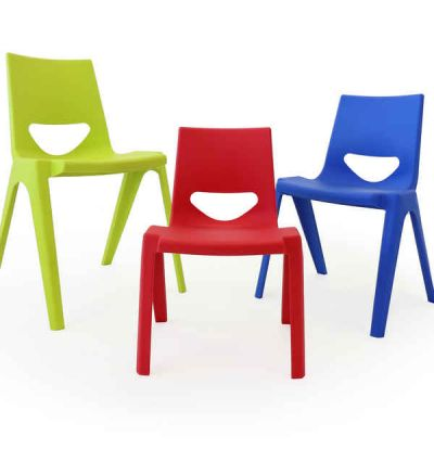 EN1 - ENOne Stackable Plastic School Chairs - Fast Delivery