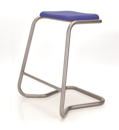 KM CLS Rectangle Lab Stools - Fast Delivery