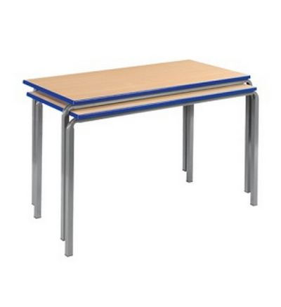 MT Reliance School Tables - Heavy Duty 30mm Stacking & Non-Stacking Frame - PU Edge