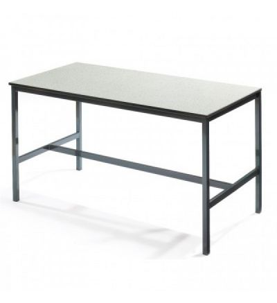 MT Science & Lab Tables - Fully welded H frame with chemical resistant Trespa top