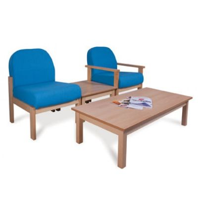 Adv 412-417 Deluxe Wooden Easy Waiting Room Seating