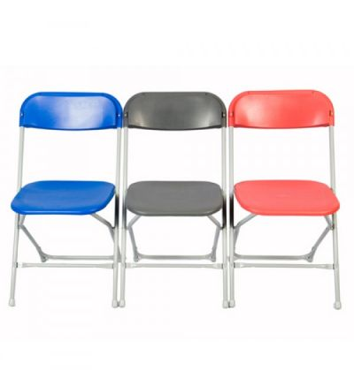 SLITE Straight Back Folding Chairs - Fast Delivery