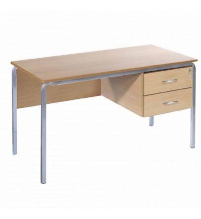 MT Crush Bent Teachers Desk Standard MDF Edge