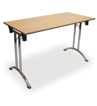 The Adv Folding Chrome Tables - Oblong