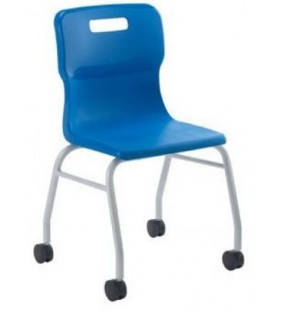 Titan Move Chairs with Castors - Fast Delivery