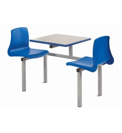 MT Canteen / Dining Two Seater Cantilever Bench Set with NP Seats