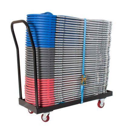 SLITE Flat Bed Storage Chair Trolley - Fast Delivery