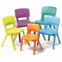 Titan Stackable Plastic School Chairs Education Furniture